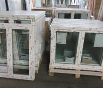 Portes et fenêtres de stock